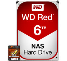 Hard Disk HDD WD Red WD60EFRX - 6TB