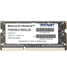 Memorie operative Patriot DDR3, 1600 MHz, 8 GB